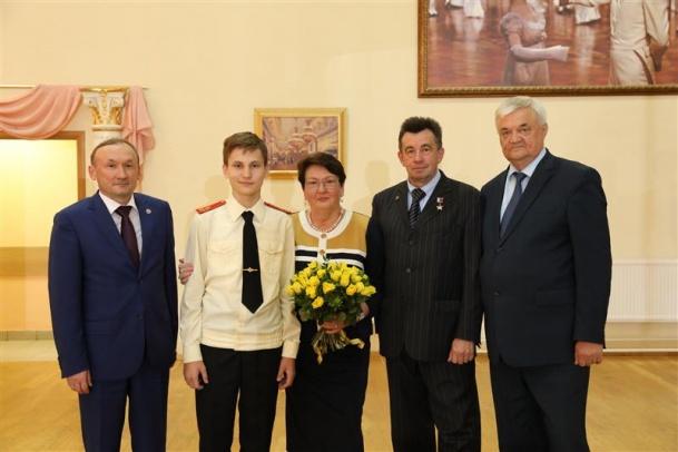 Вручение именной стипендии имени героя России генерал-полковника А.А.Романова